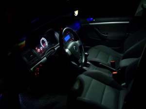 Un interior de Golf luminat LED