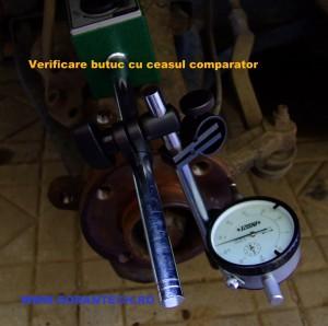 verificare planeitate butuc disc frana cu ceasul comparator-001