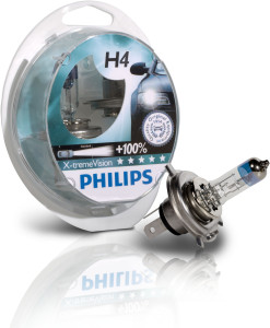 Philips Bulb XremeVision H4 Twin